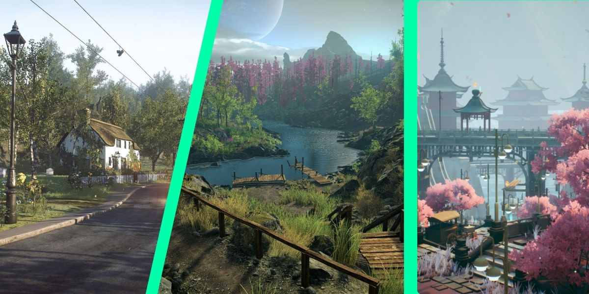 Video games with stunning scenery